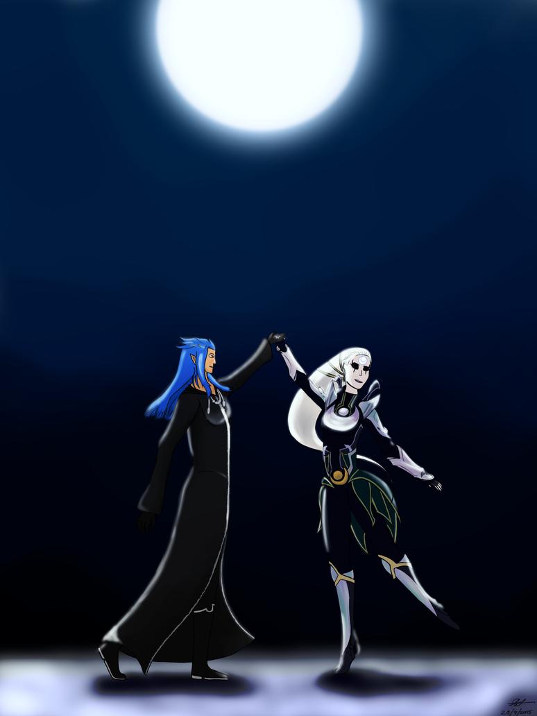 Silver Moons by BlueSpiritFire1