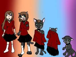 Girl To Anime Cat