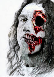 Slayer: Tom Araya by Shamaanita