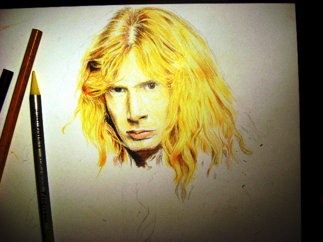 Dave Mustaine. Megadeth WIP by S-ANITA-RIUM