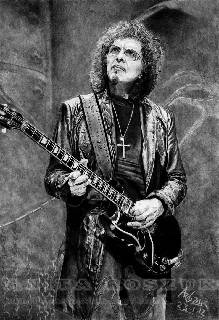 IRON MAN - Tonny Iommy, Black Sabbath by Red-Szajn