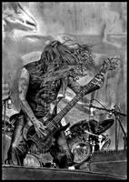 Tom Araya - SLAYER - Black Magic by Shamaanita
