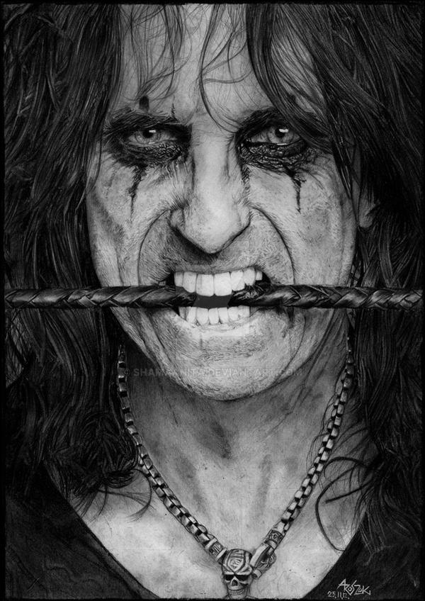 ALICE COOPER by Red-Szajn