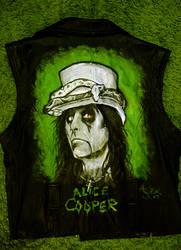 Alice Cooper jacket by Shamaanita