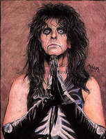 Alice Cooper for Dragslo by Shamaanita
