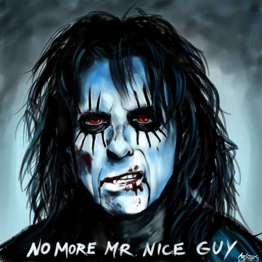 No More Mr. Nice Guy by Red-Szajn
