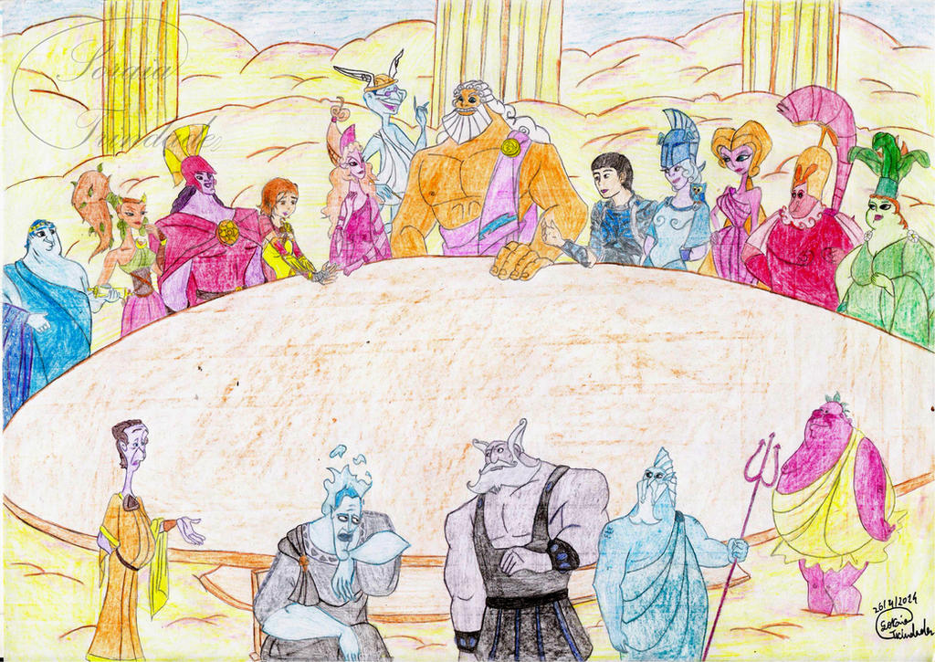 the council of the gods by