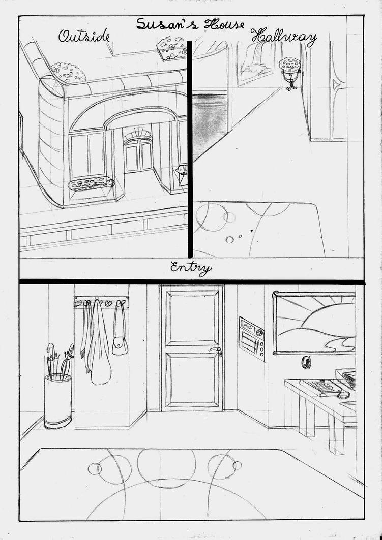 Sketch - Susan's House part 1 by Lady-Scorpion