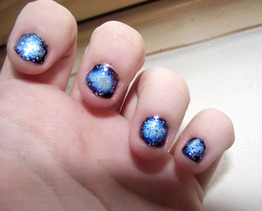 Universe Nails By Disguisedinsilence On Deviantart