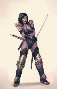 Guille-swordsgirl