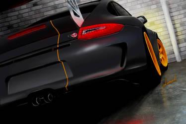 911 GT3 matte