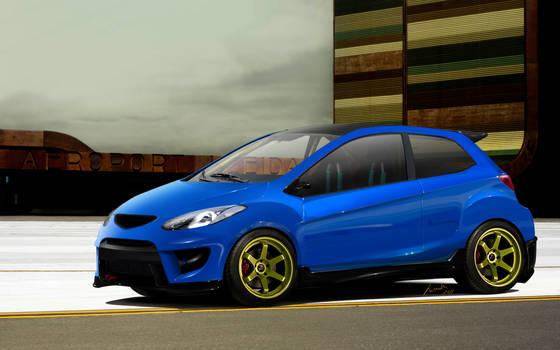 Mazda 2 RaceMode