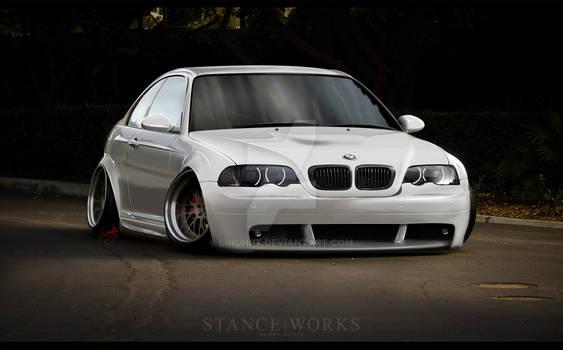 BMW e46 M3 StancE