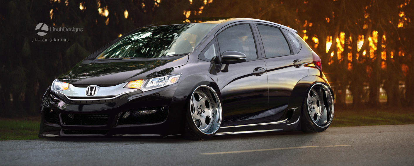 Honda Fit 2015 By LinuhPT