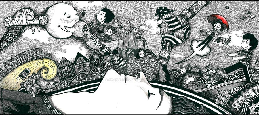 Le monde magique de Arnaud by Cyan-dg