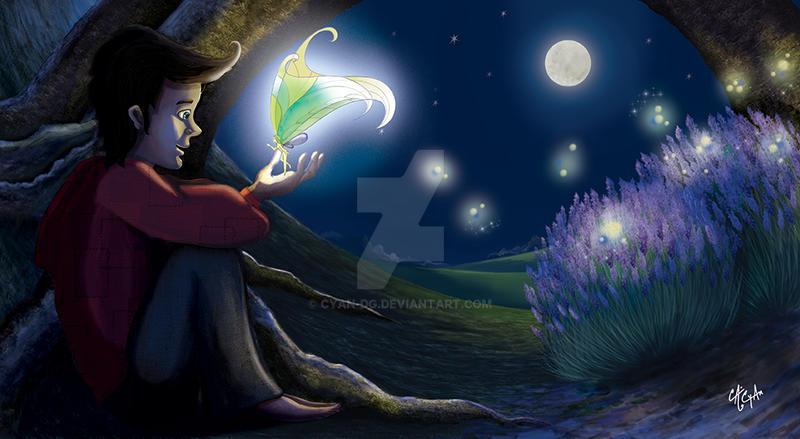Fairy Night by Cyan-dg