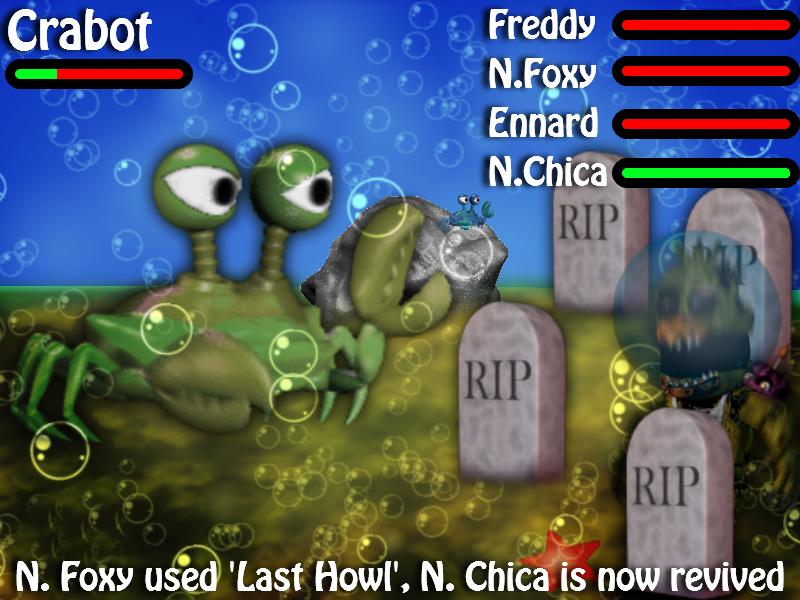 Day 20 - Fnaf World Remastered, Last Howl Demo by