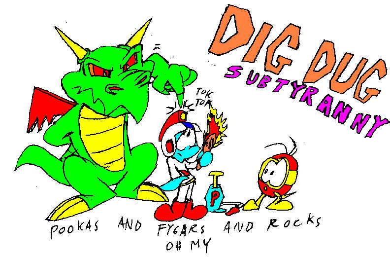 Pooka Dig Dug Fygar Wwwpicsbudcom
