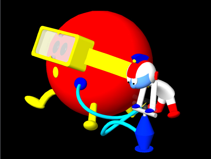 Group Of 3d Dig Dug Wallpapers