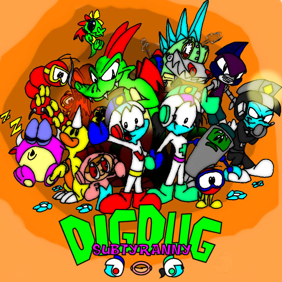 Dig Dug Subtyranny Colored