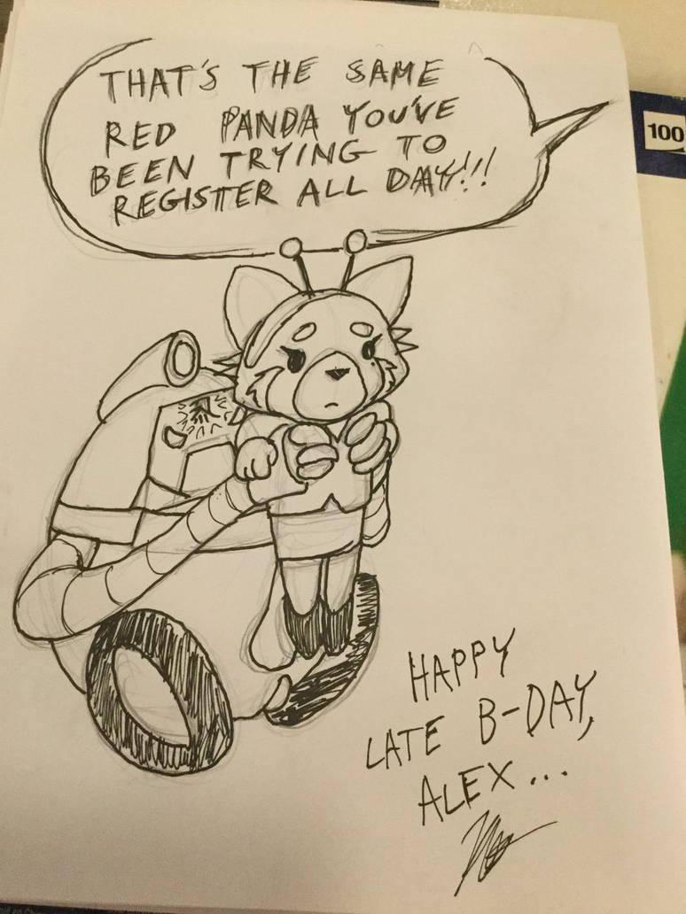 Birthday Registration pic by battybuddy