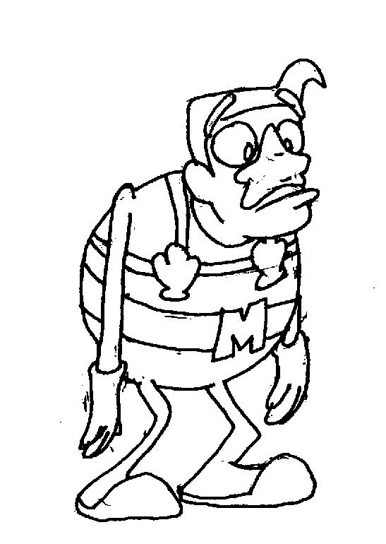 Mermaidman by battybuddy