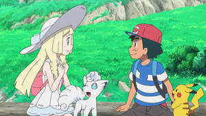 Ash and Lillie (SM098)