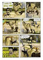 conan vs xena in Soul Calibur V 2 by nicetarget