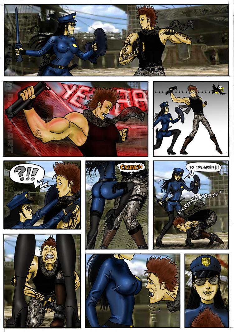 Pyrrah vs Maxi in SoulCalbur V by nicetarget