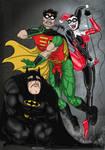 Harley Quinn Vs Batman and Robin