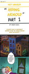Hiding Arnold -Hey Arnold Comic (PART 1) by ingridochoa