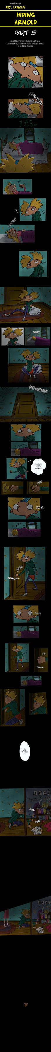 (PART 5) Hiding Arnold -Hey Arnold Comic by ingridochoa
