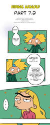 (PART 7.2) Hiding Arnold -Hey Arnold Comic by ingridochoa