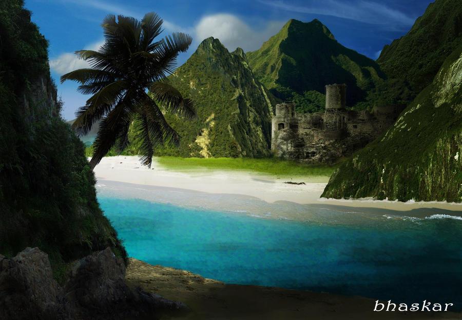Forgotten ruins by bhaskar655
