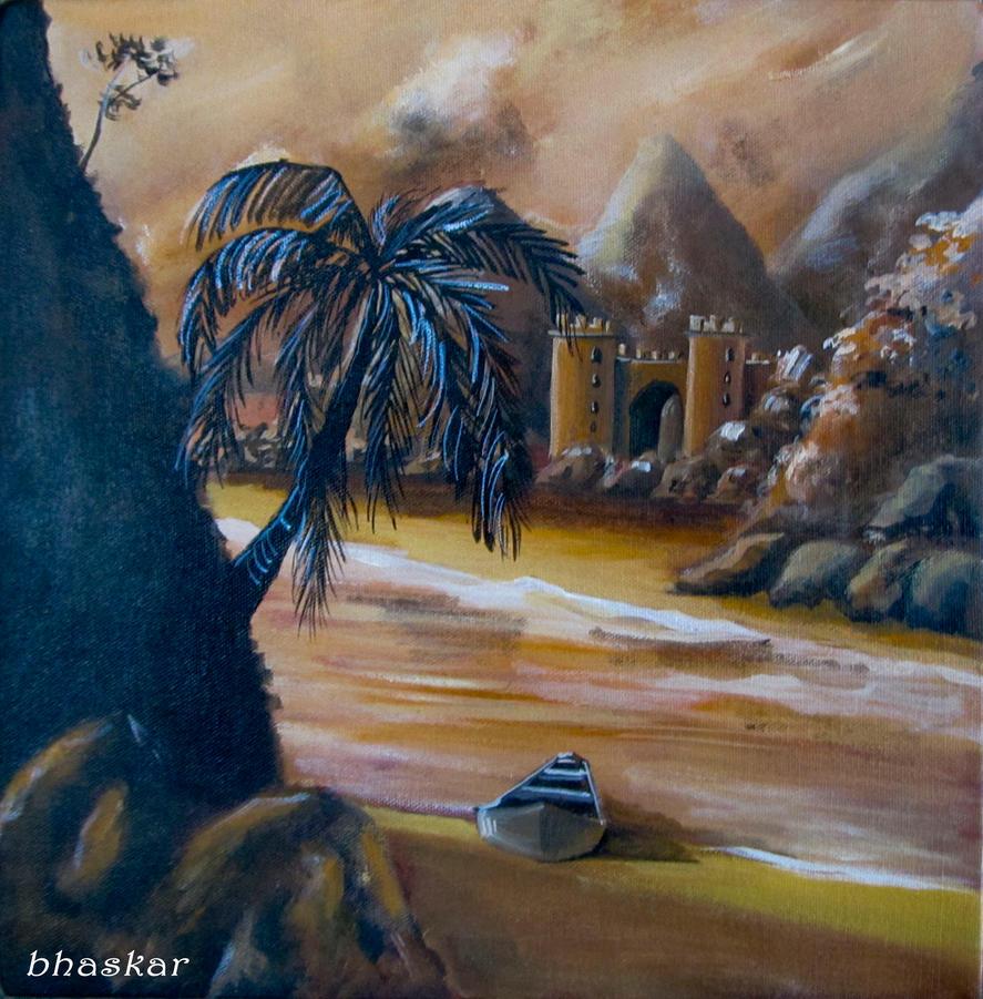 Forgotten ruins II by bhaskar655