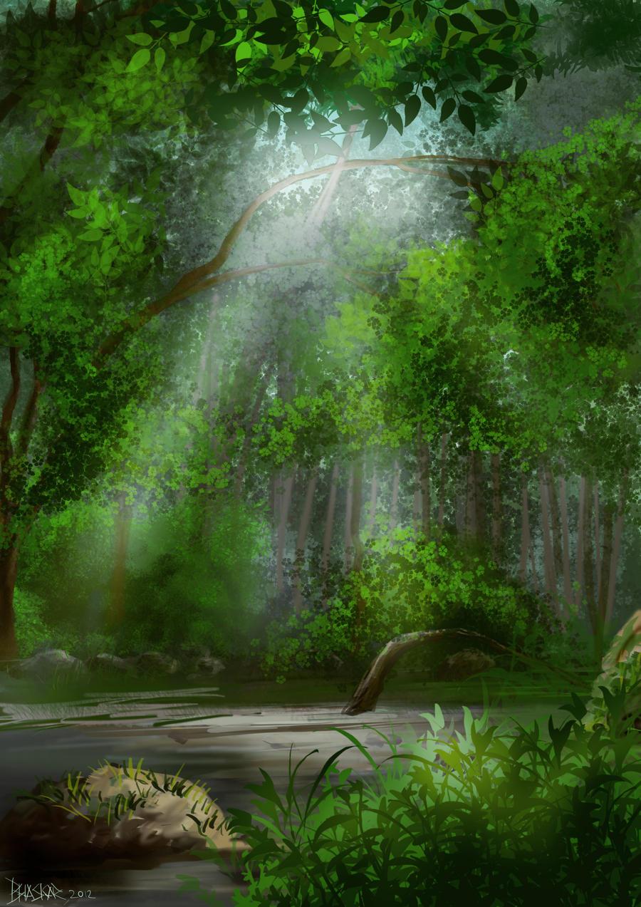 Rain Forest by bhaskar655