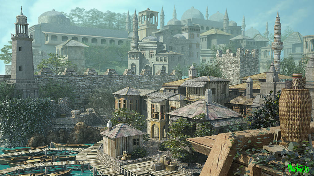 Medieval City by bhaskar655