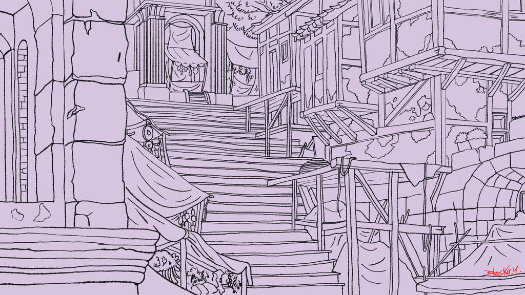 Stairs by bhaskar655