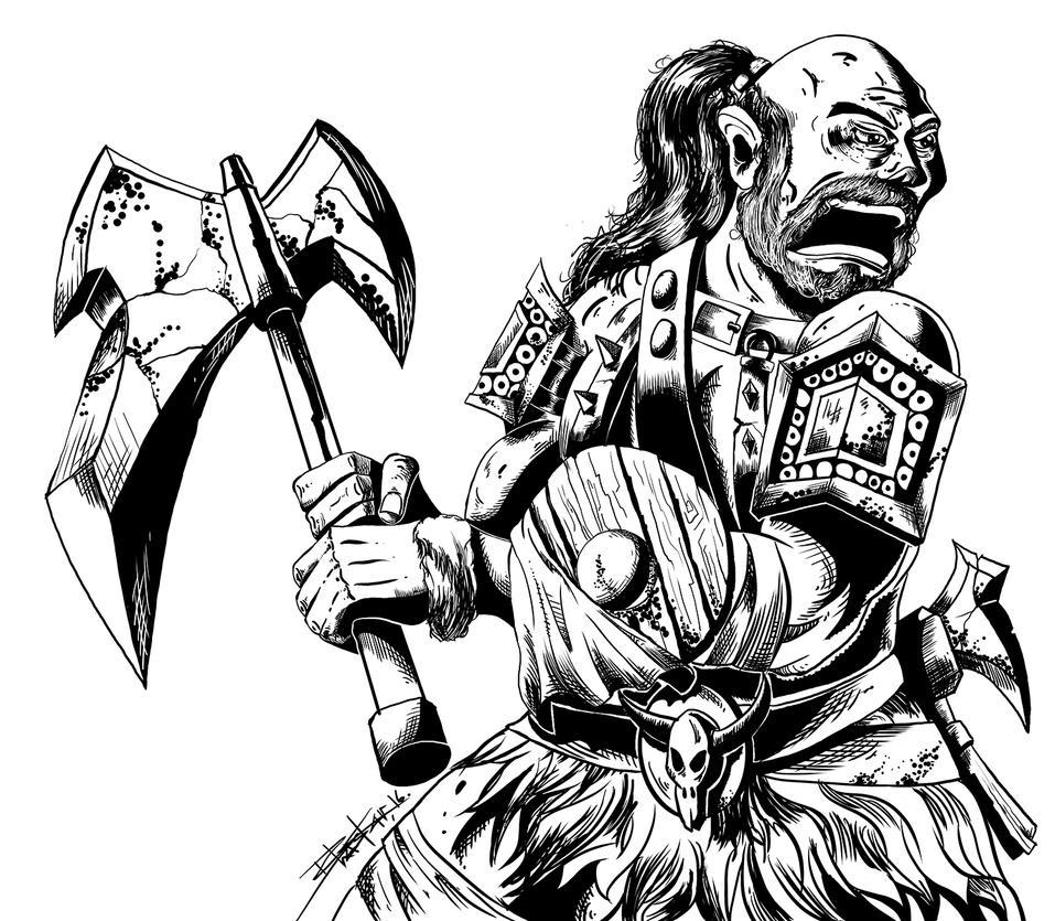 The Barbarian by bhaskar655