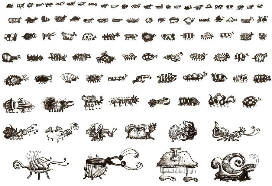 98 Bugs by limejellybean