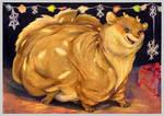 Fat X-mas present for Rudolph