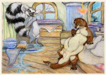 The Otter Story March by SSsilver-c