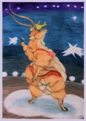 Fat Gazelle by SSsilver-c