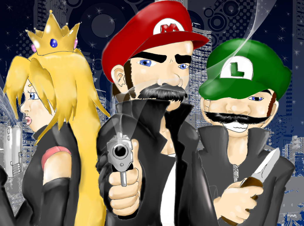 Gangster Mario Pt II: Reloaded by combototheoblivion on DeviantArt