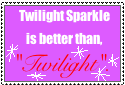 Twilight Is.... Stamp by Rosethethief