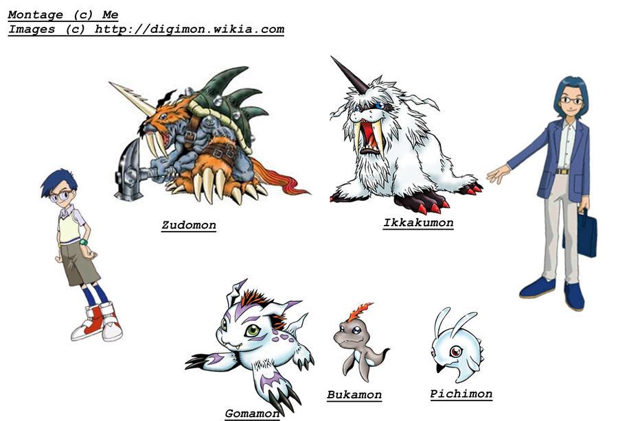 digimon gomamon evolution - photo #1