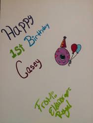 Birthday card by VISIONARYGirl