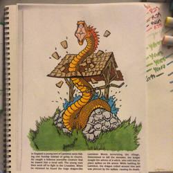 Lambton worm by VISIONARYGirl