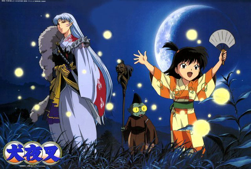 sesshomaru and rin and jaken by shadowgirl221 on deviantart
