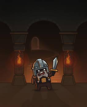 A Dwarfy Dwarf Defending his Dwarfy Hoard